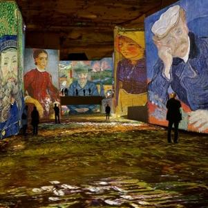 Photo Ван Гог в паризькій «Майстерні світла»